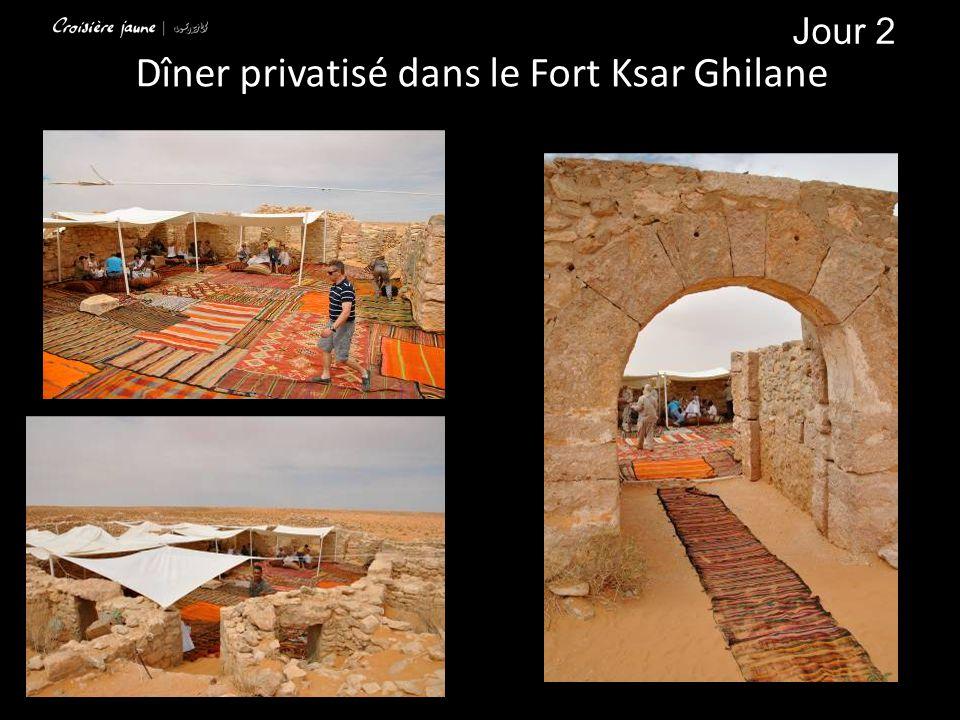 Dîner privatisé dans le Fort Ksar Ghilane