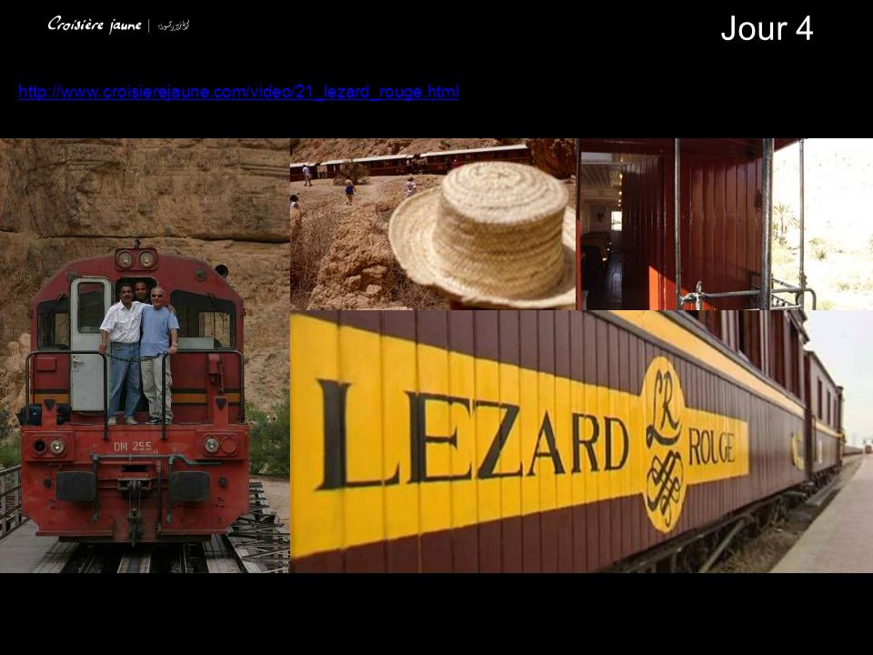 Jour 4 http://www.croisierejaune.com/video/21_lezard_rouge.html
