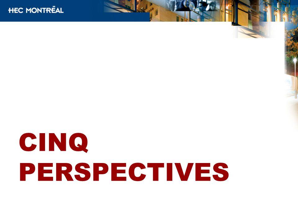 CINQ Perspectives