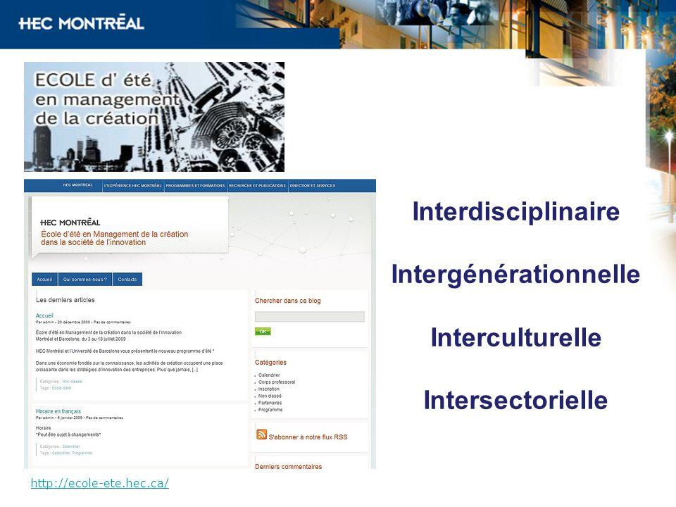 Intergénérationnelle
