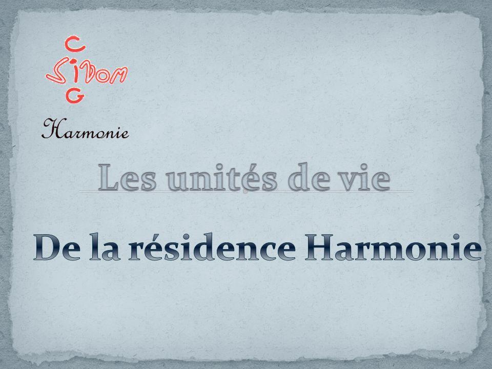 De la résidence Harmonie