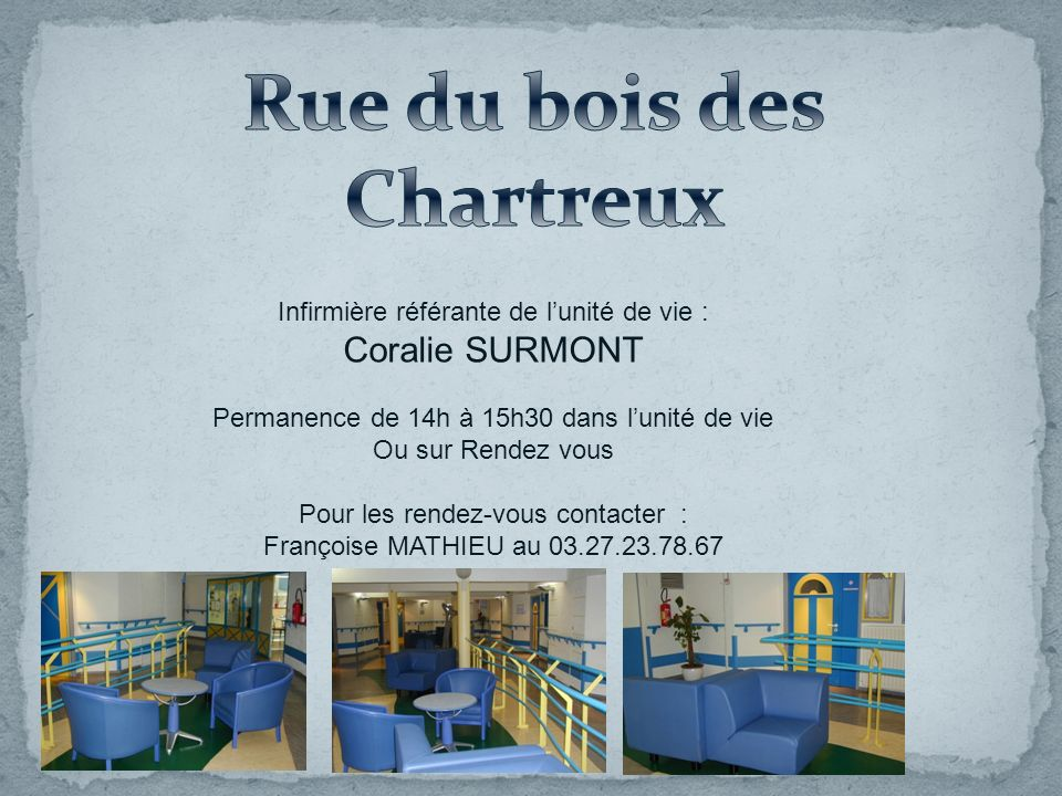 Rue du bois des Chartreux