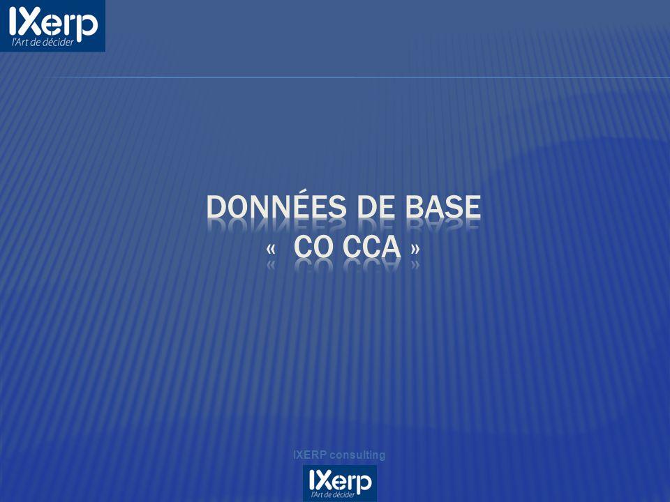Données de base « CO CCA »