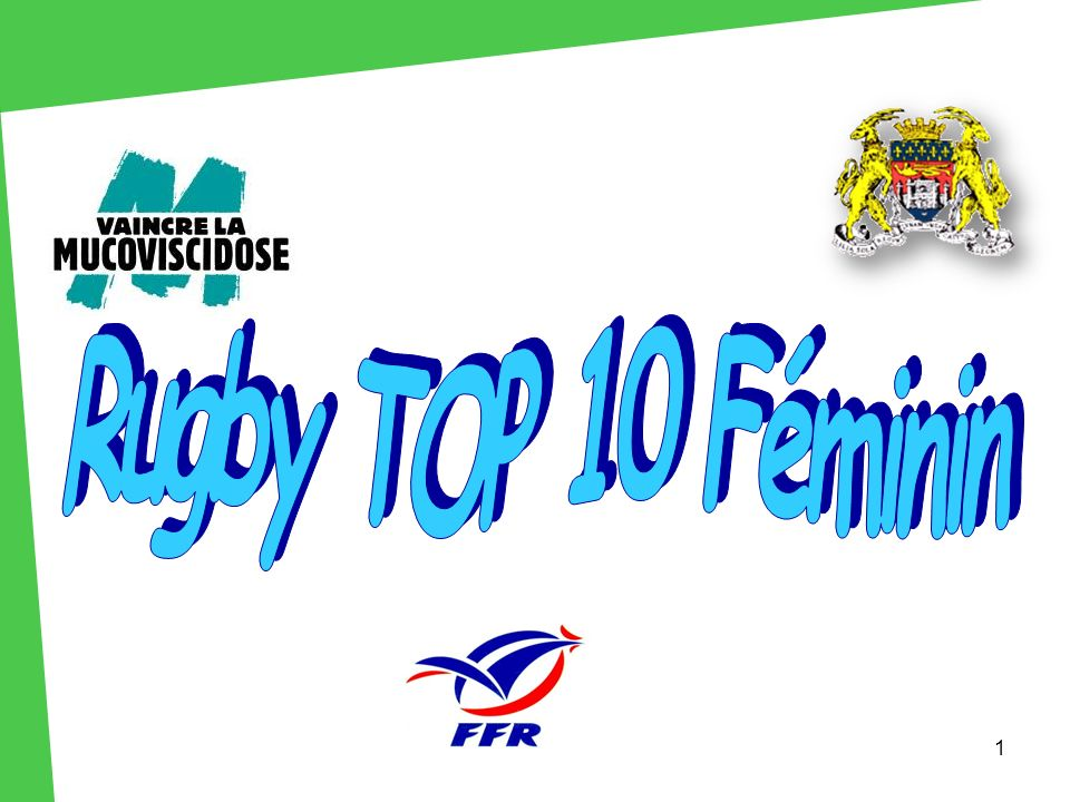 Rugby TOP 10 Féminin 1