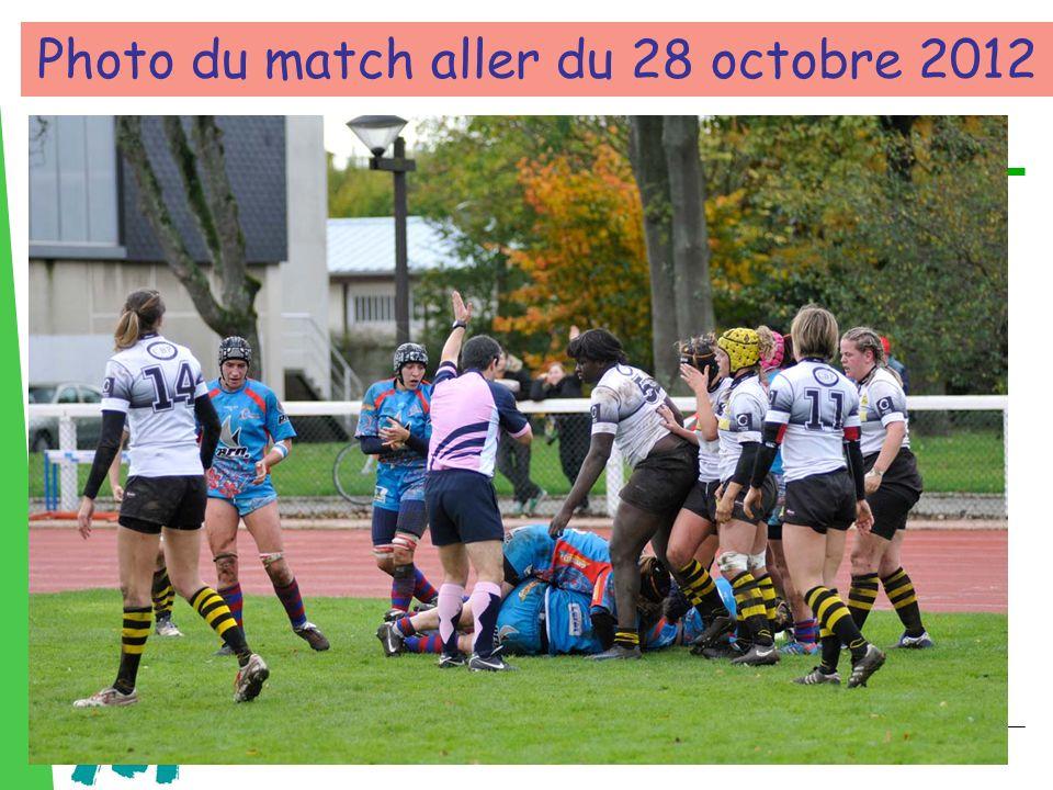 Photo du match aller du 28 octobre 2012