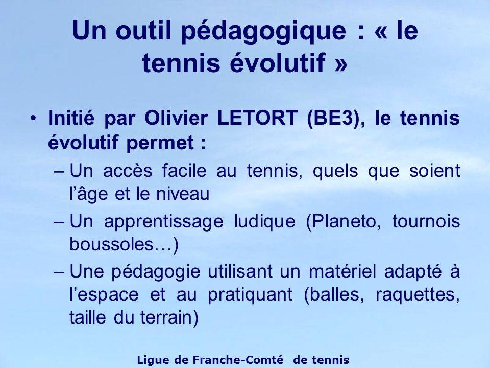 Un outil pédagogique : « le tennis évolutif »