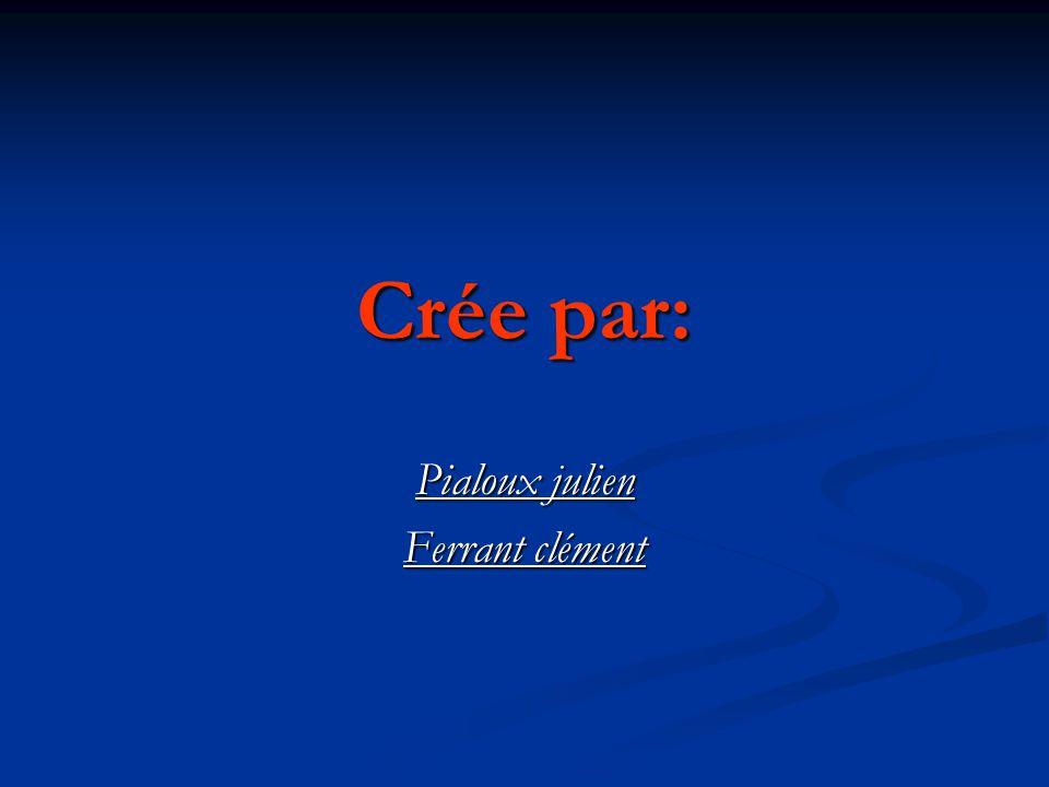 Pialoux julien Ferrant clément