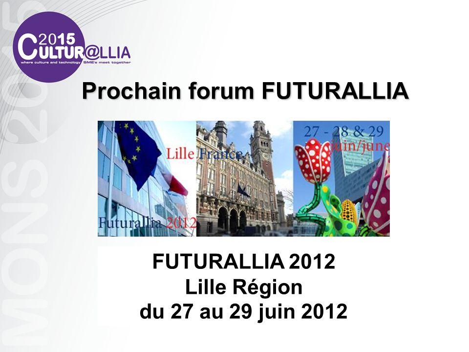 Prochain forum FUTURALLIA