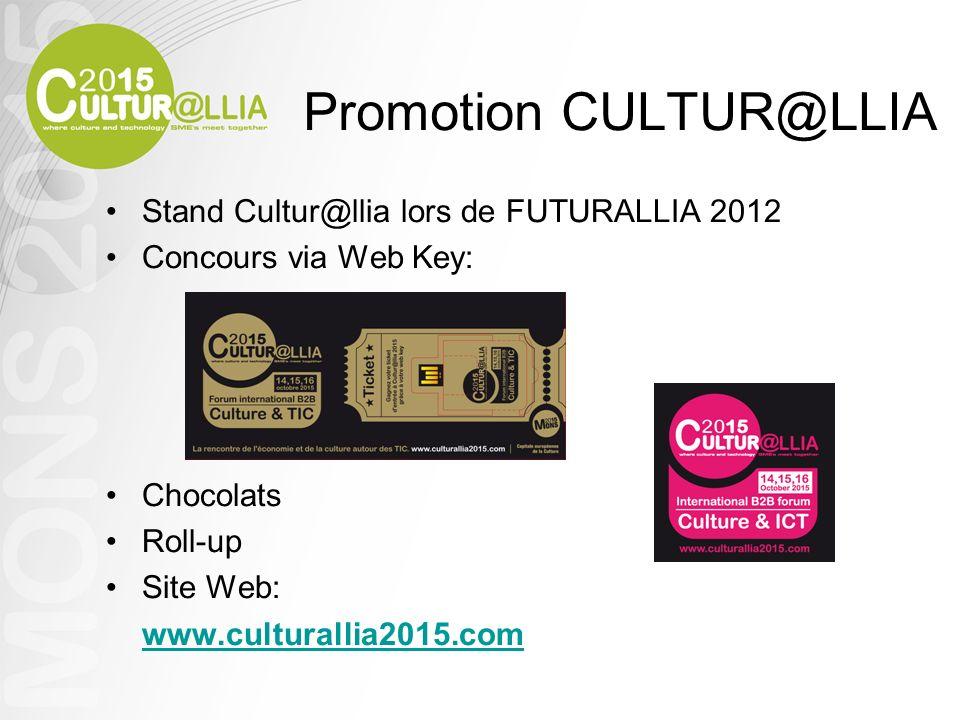 Promotion CULTUR@LLIA