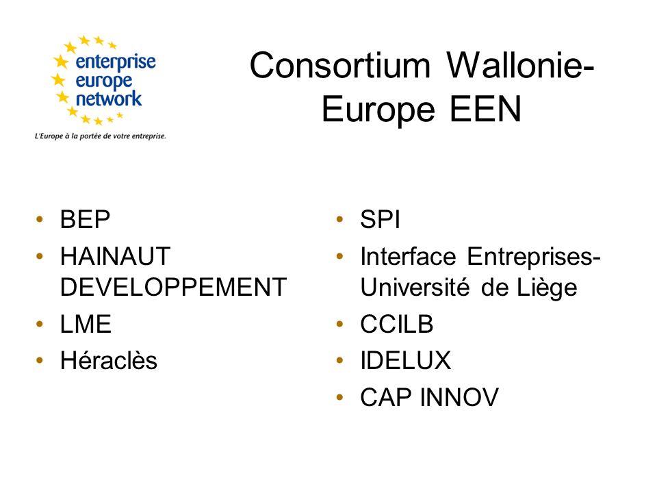 Consortium Wallonie-Europe EEN