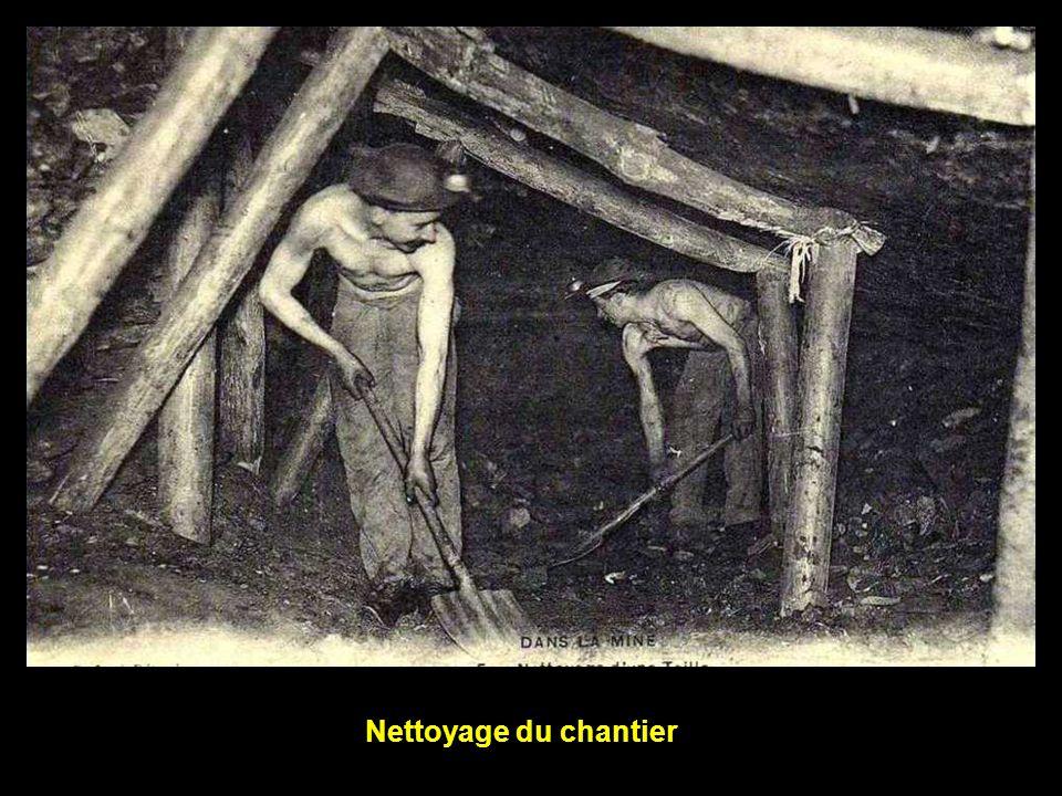 Nettoyage du chantier