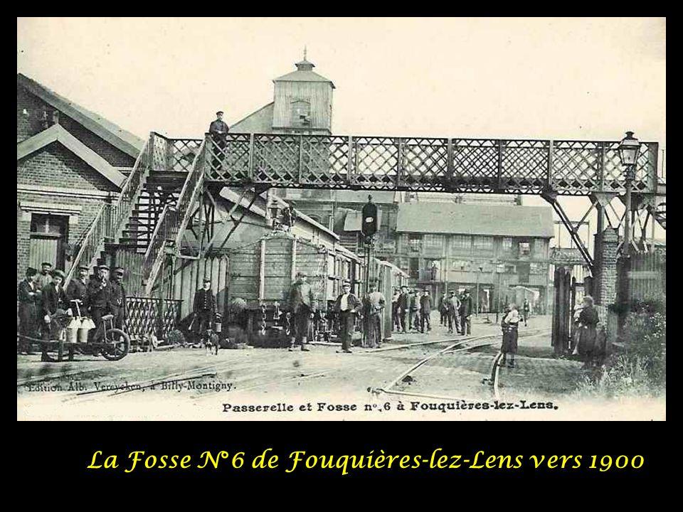 La Fosse N°6 de Fouquières-lez-Lens vers 1900