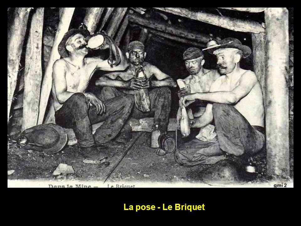 La pose - Le Briquet