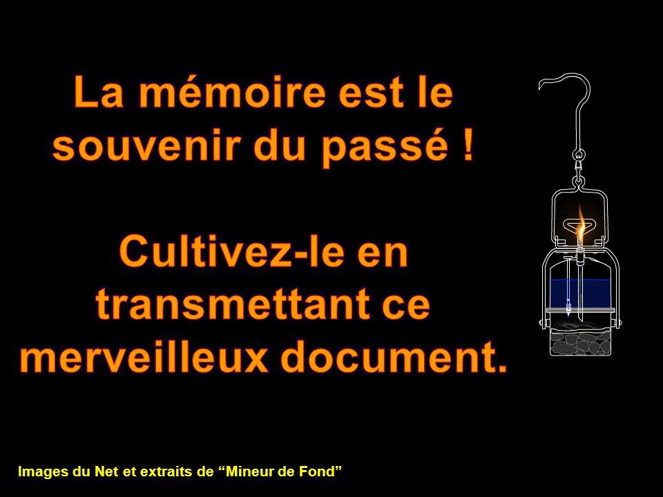 La mémoire est le souvenir du passé !