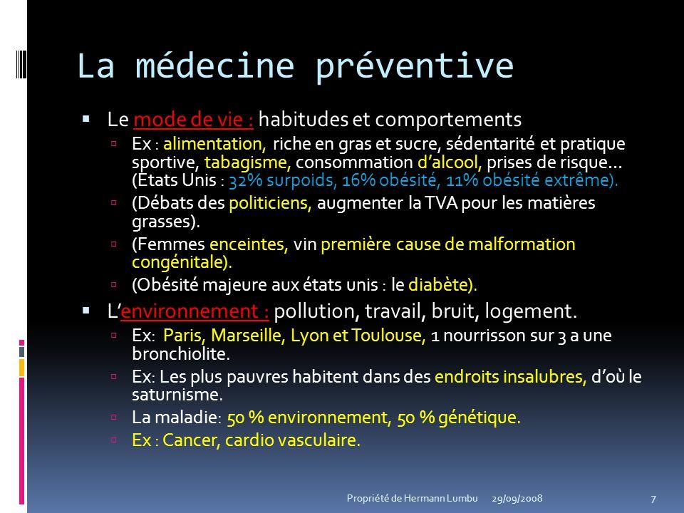 La médecine préventive
