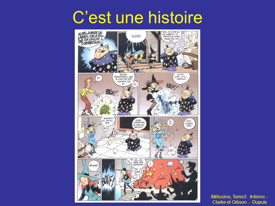 Mélusine, Tome3 : Inferno .- Clarke et Gibson .- Dupuis