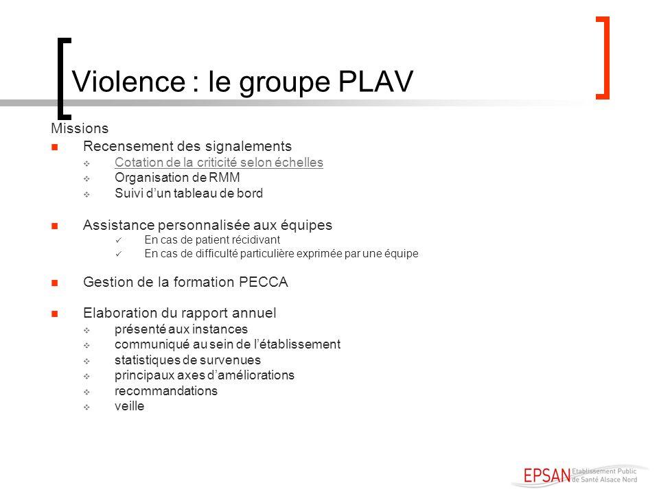Violence : le groupe PLAV