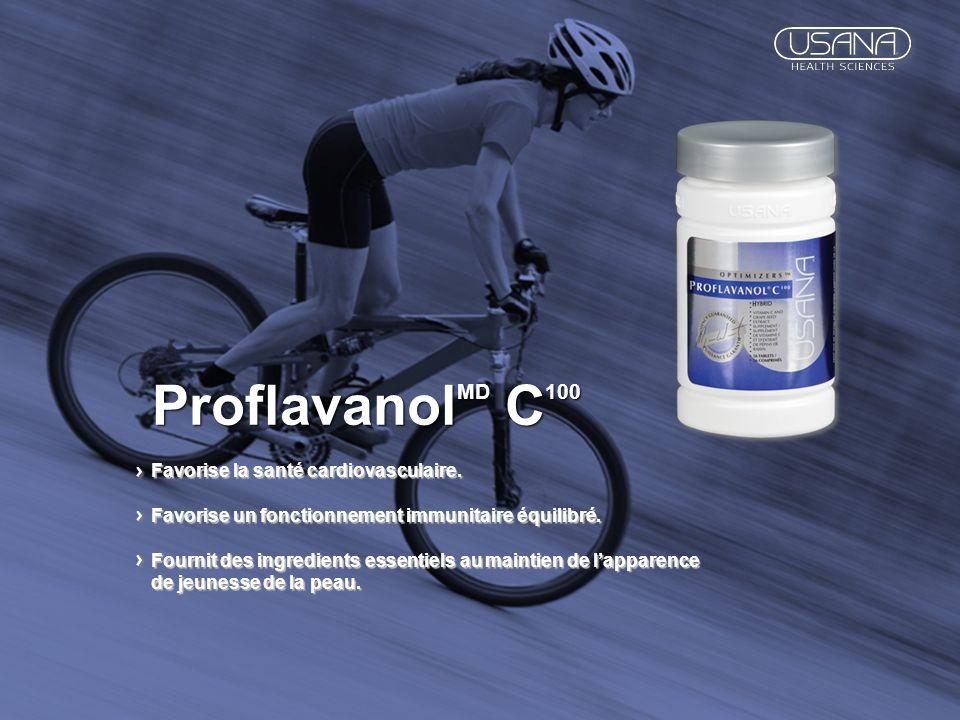 ProflavanolMD C100 Favorise la santé cardiovasculaire.
