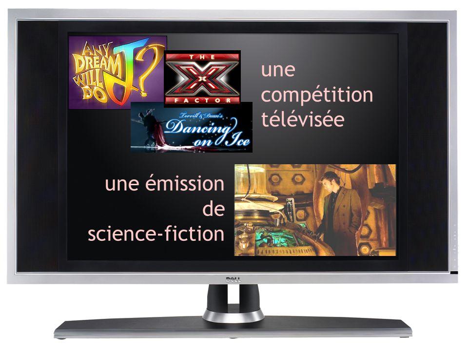 une compétition télévisée une émission de science-fiction