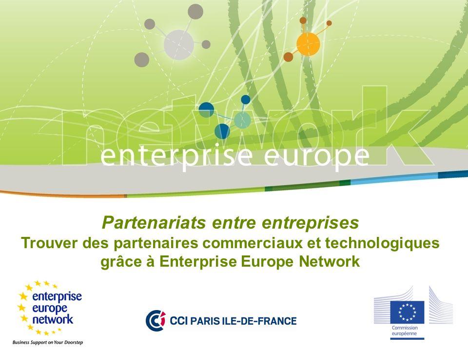 Partenariats entre entreprises