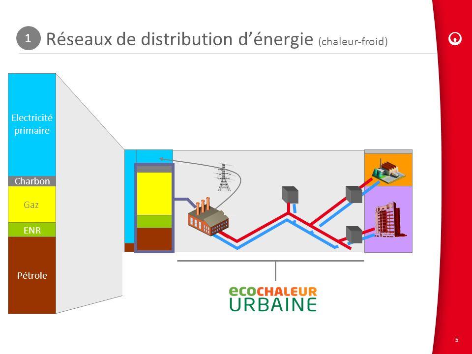 Réseaux de distribution d'énergie (chaleur-froid)