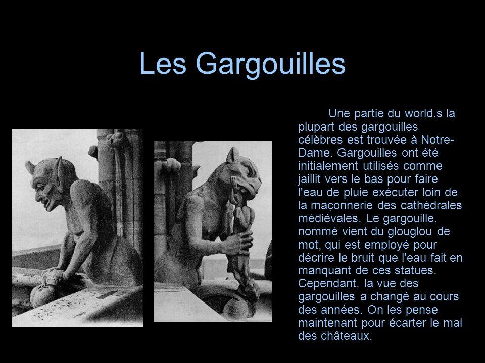 Les Gargouilles