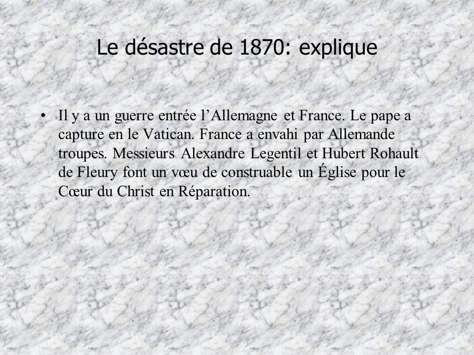 Le désastre de 1870: explique