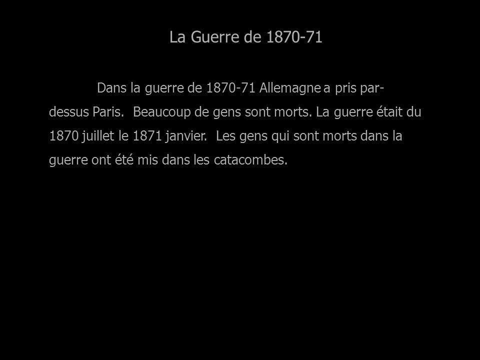 La Guerre de 1870-71