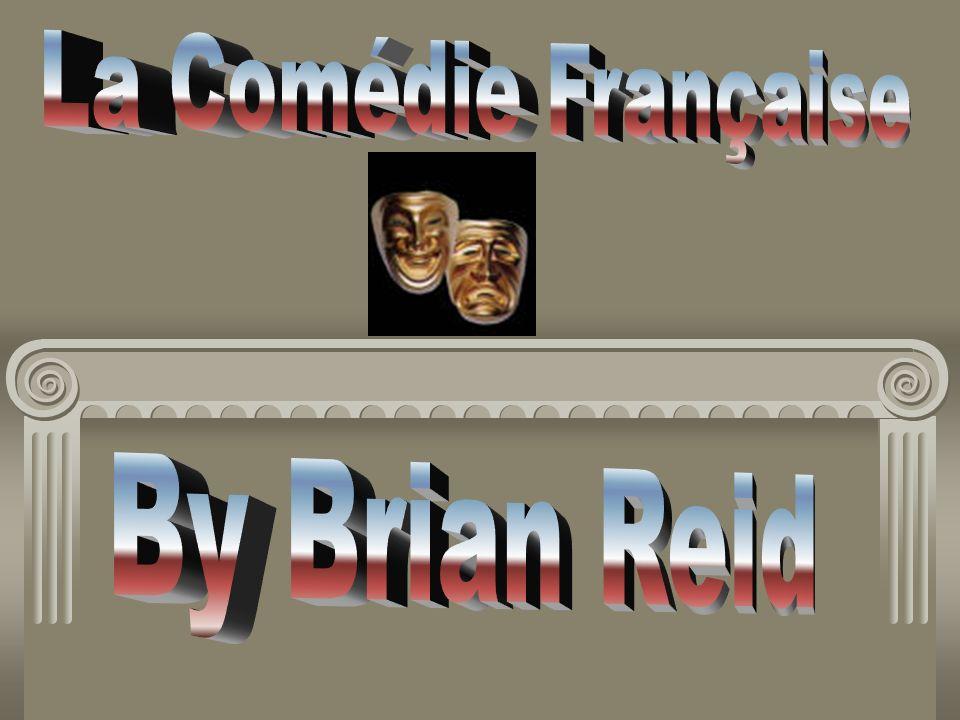 La Comédie Française By Brian Reid