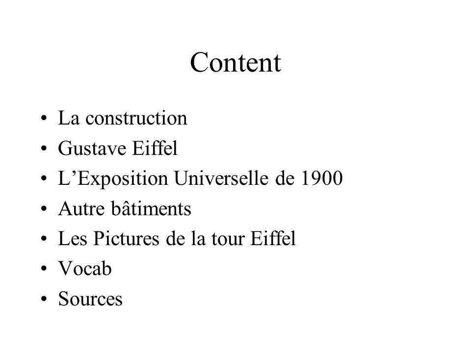 Content La construction Gustave Eiffel