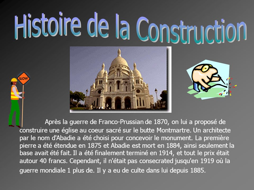 Histoire de la Construction