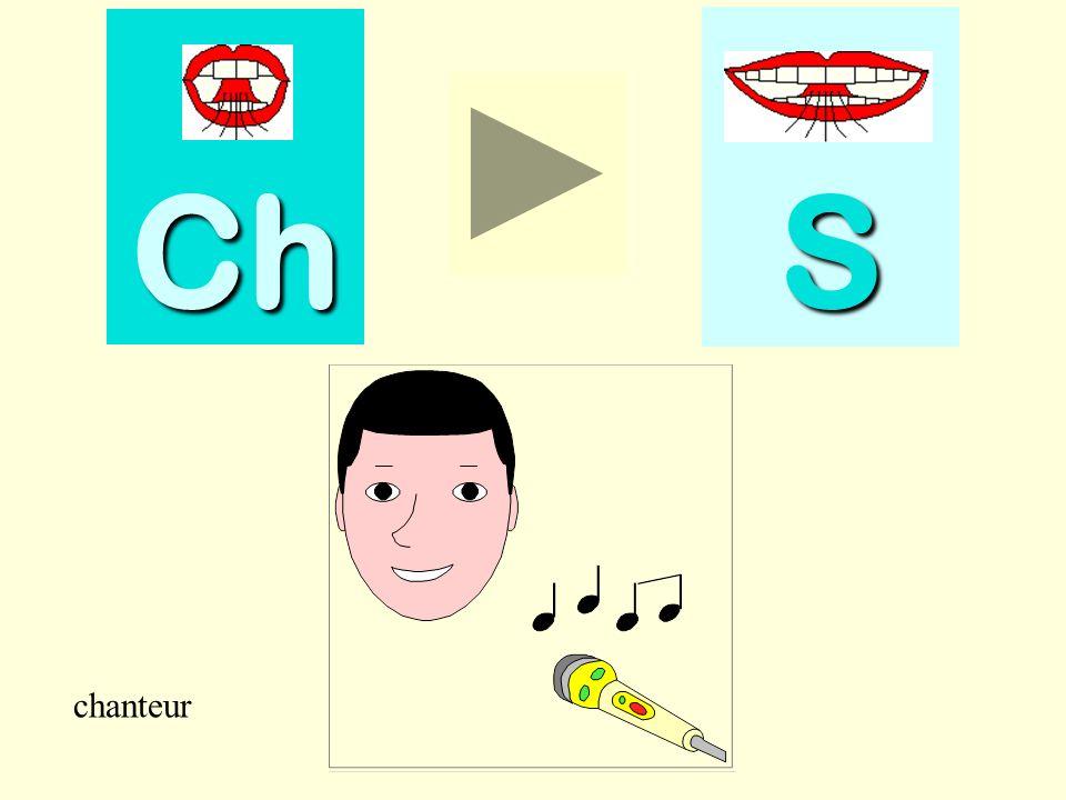 Ch S chanteur chanteur