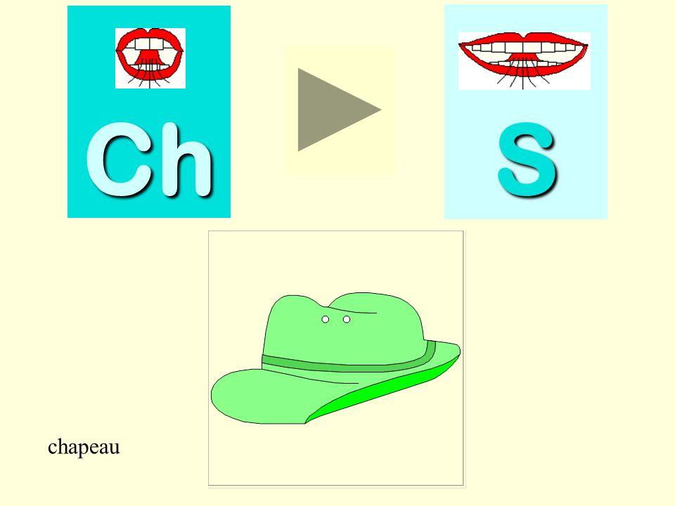 Ch S chapeau chapeau