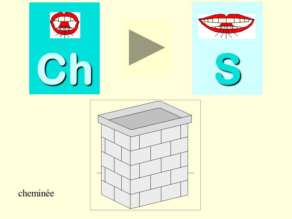 Ch S cheminée cheminée
