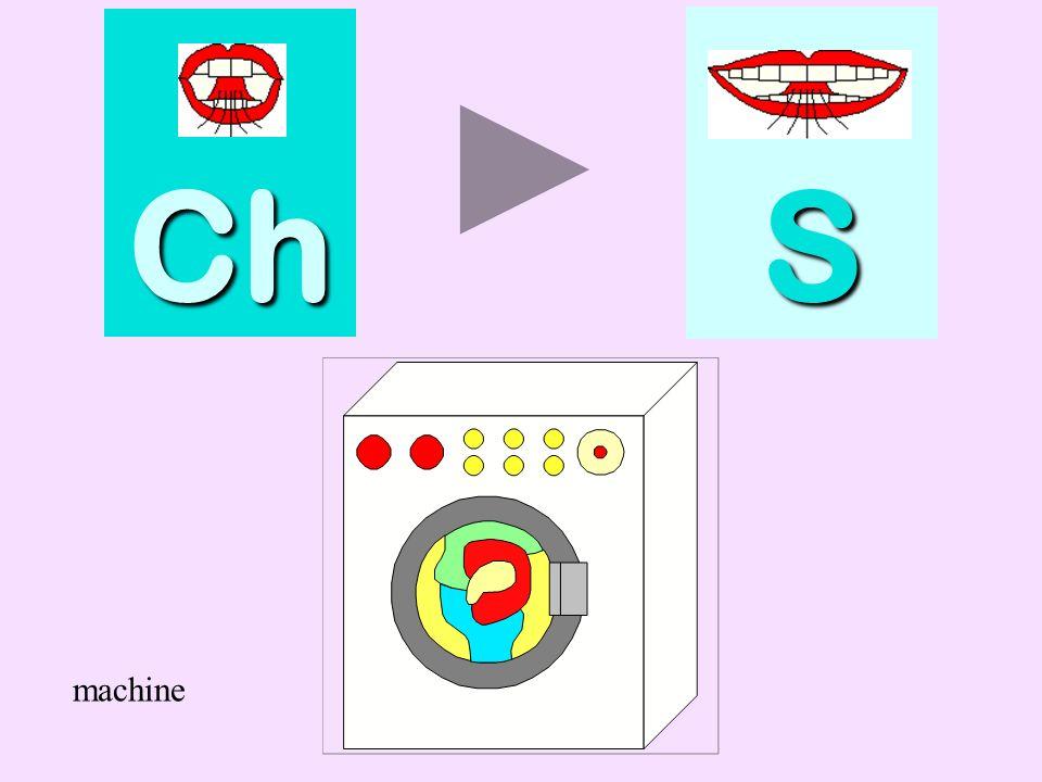 Ch S machine machine