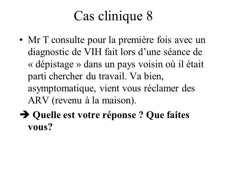 Cas clinique 8