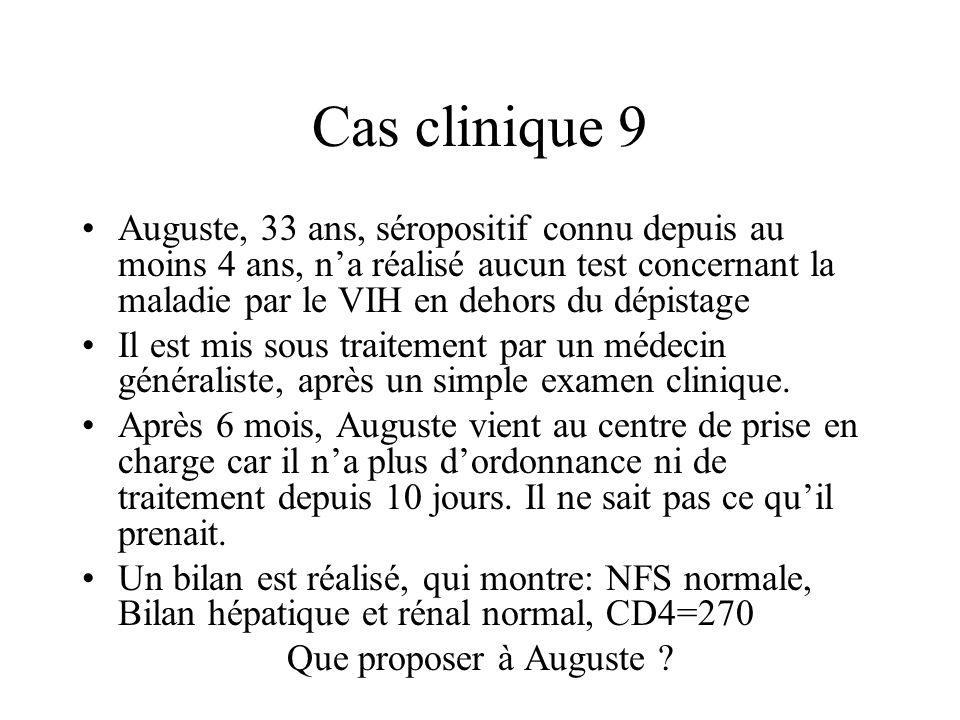 Cas clinique 9