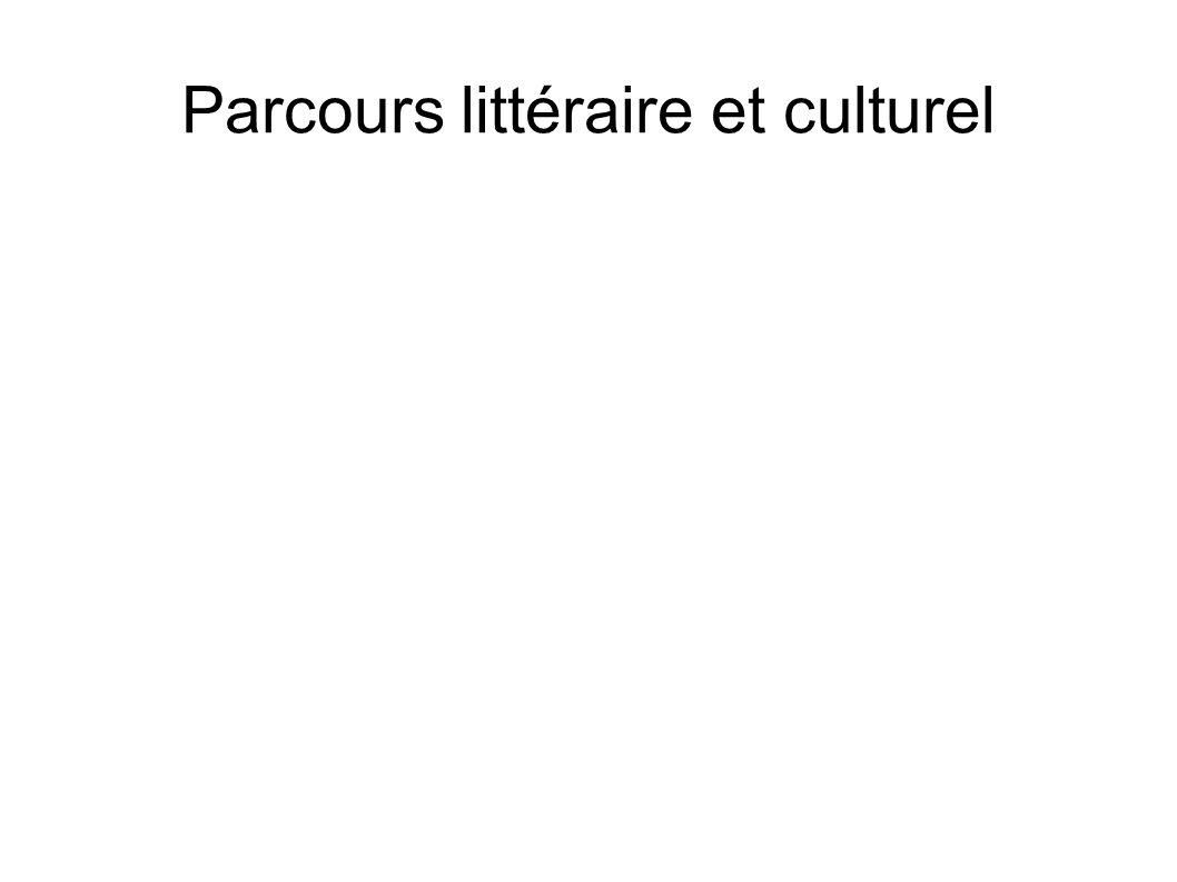 Parcours littéraire et culturel