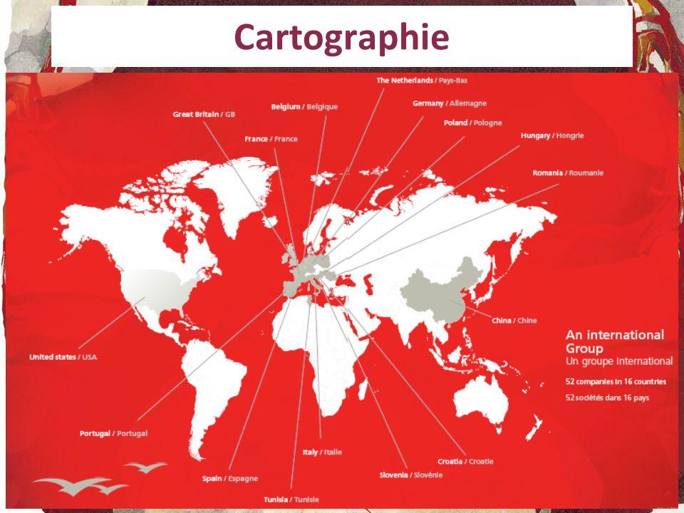 Cartographie Faire le choix entre les deux types d'organigramme présents dans la plaquette.