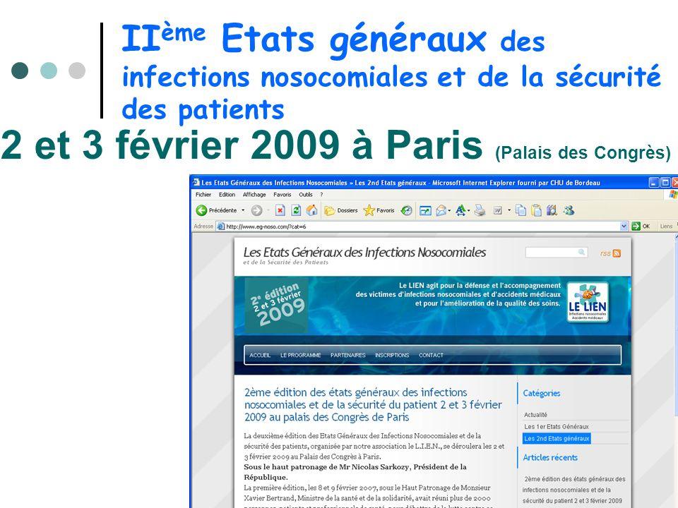 2 et 3 février 2009 à Paris (Palais des Congrès)