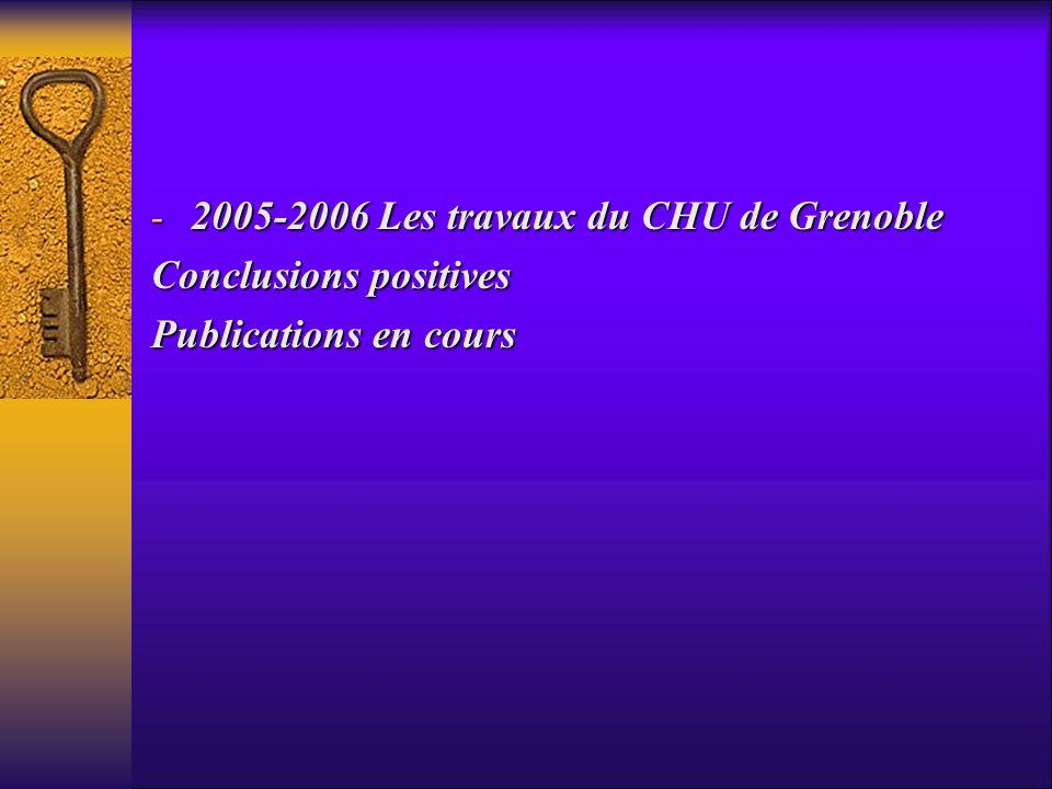 2005-2006 Les travaux du CHU de Grenoble