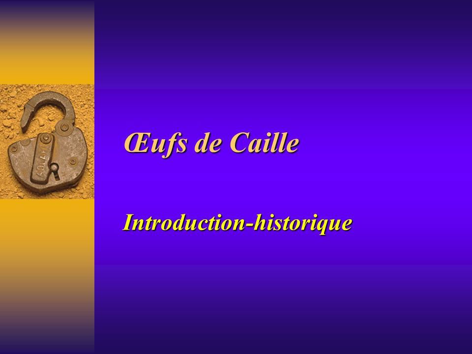 Introduction-historique