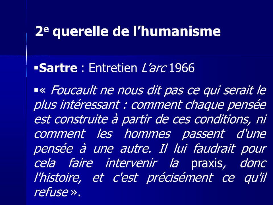 2e querelle de l'humanisme