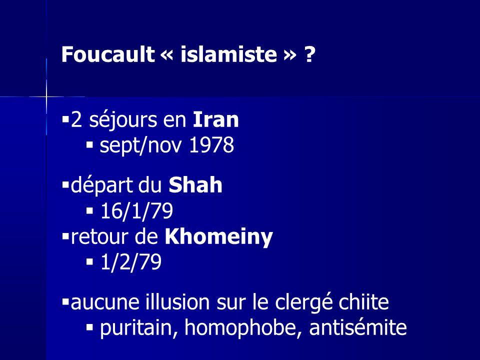 aucune illusion sur le clergé chiite puritain, homophobe, antisémite