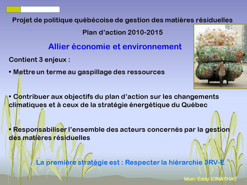 Allier économie et environnement