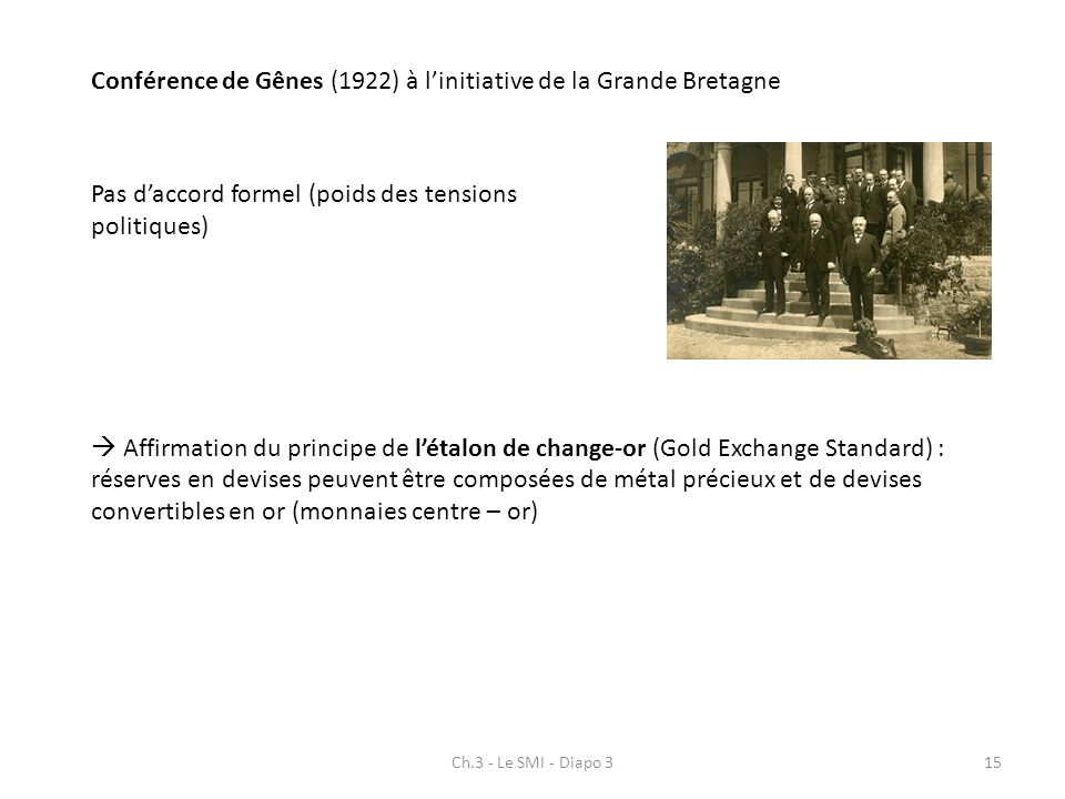Conférence de Gênes (1922) à l'initiative de la Grande Bretagne