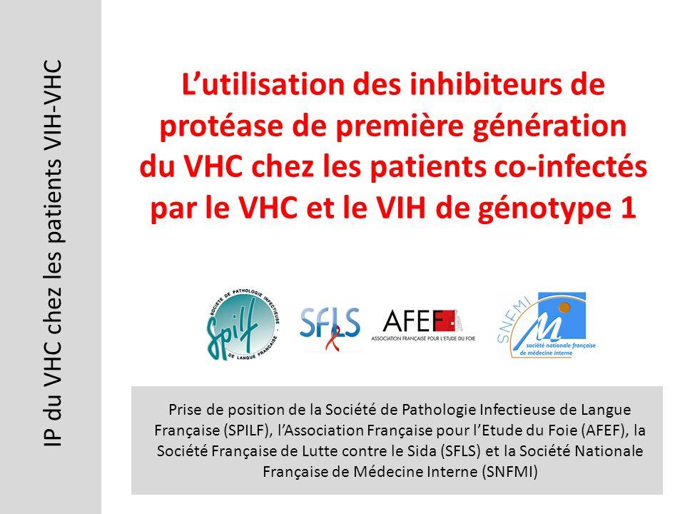IP du VHC chez les patients VIH-VHC