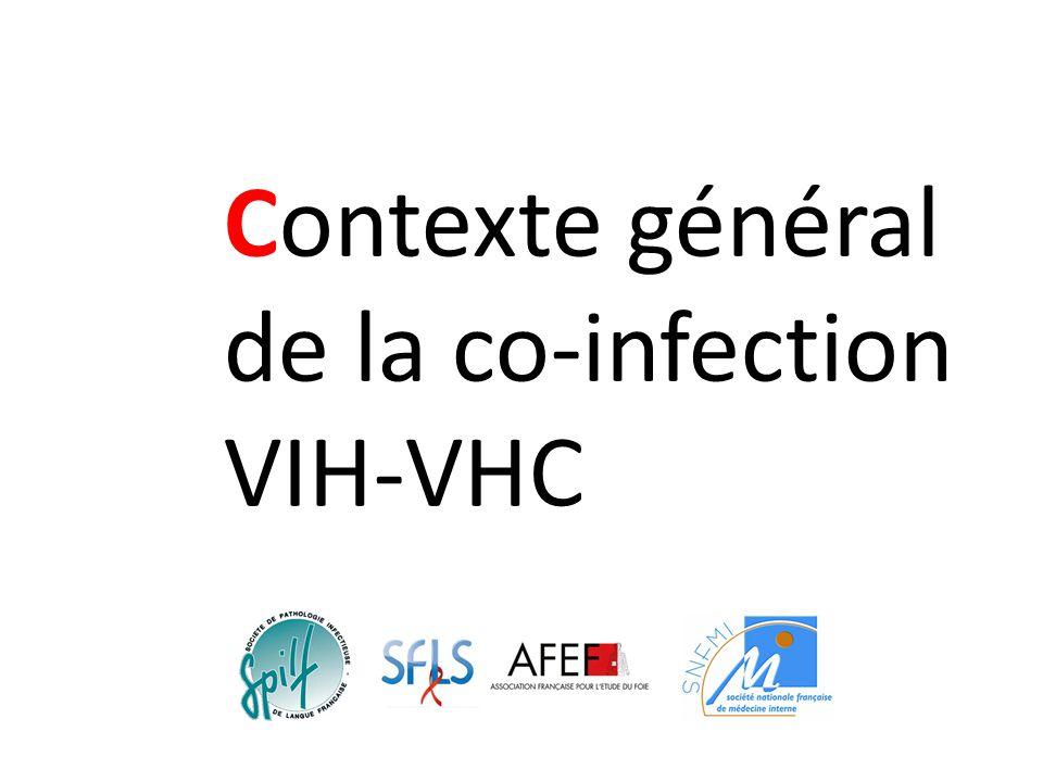 Contexte général de la co-infection VIH-VHC