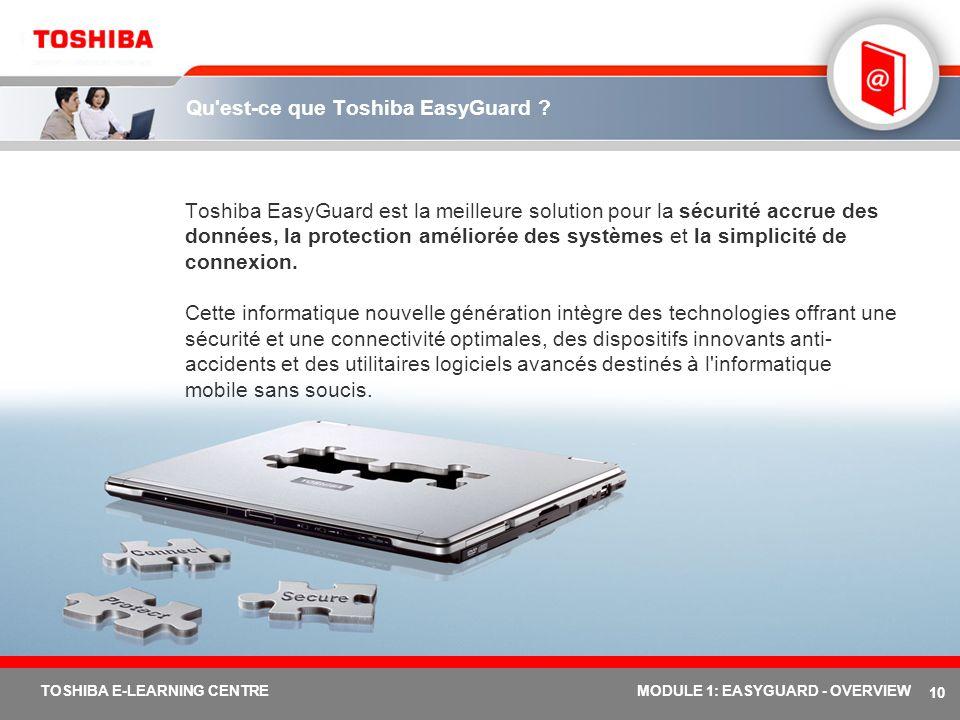 Qu est-ce que Toshiba EasyGuard