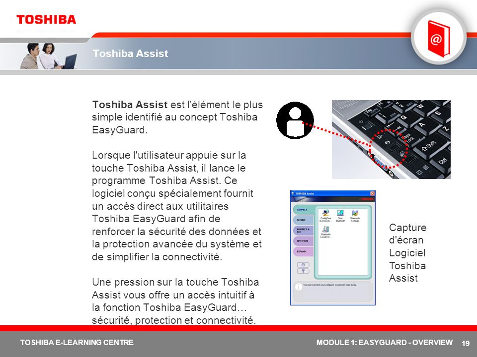 Logiciel Toshiba Assist